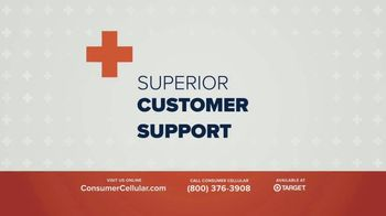 Consumer Cellular TV Spot, 'Plus Spring Into Savings' - Thumbnail 4