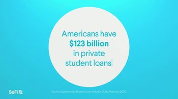 SoFi TV Spot, 'SoFi Members Get Their Student Debt Right: Private' Song by Labrinth - Thumbnail 1