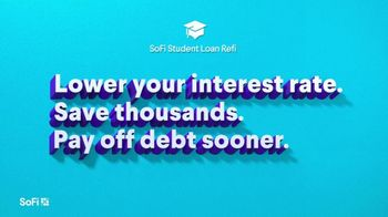 SoFi TV Spot, 'SoFi Members Get Their Student Debt Right: Private' Song by Labrinth