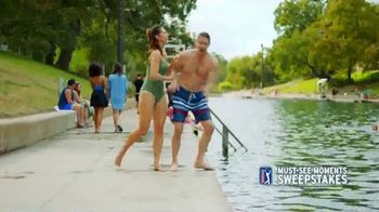 PGA TOUR Must-See-Moments Sweepstakes TV Spot, 'Austin Texas' - 329 commercial airings