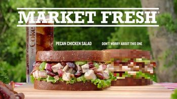 Arby's Pecan Chicken Salad Sandwich TV Spot, 'Last Year's Commercial' Song by YOGI - Thumbnail 5