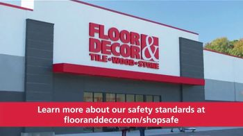 Floor & Decor TV Spot, 'Safely Shop Your Way' - Thumbnail 10