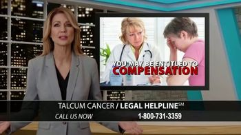 Arnold & Itkin LLP TV Spot, 'Ovarian Cancer Linked to Talcum Powder' - Thumbnail 8