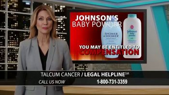 Arnold & Itkin LLP TV Spot, 'Ovarian Cancer Linked to Talcum Powder' - Thumbnail 2
