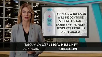 Arnold & Itkin LLP TV Spot, 'Ovarian Cancer Linked to Talcum Powder' - Thumbnail 3