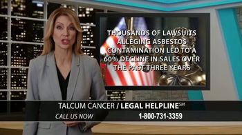 Arnold & Itkin LLP TV Spot, 'Ovarian Cancer Linked to Talcum Powder' - Thumbnail 4