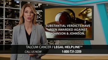 Arnold & Itkin LLP TV Spot, 'Ovarian Cancer Linked to Talcum Powder' - Thumbnail 5
