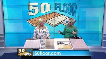 50 Floor Free Installation Sale TV Spot, 'Bracing Yourself' - Thumbnail 1
