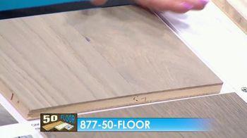 50 Floor Free Installation Sale TV Spot, 'Bracing Yourself' - Thumbnail 4