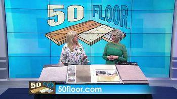 50 Floor Free Installation Sale TV Spot, 'Bracing Yourself' - Thumbnail 6