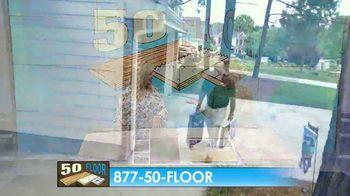 50 Floor Free Installation Sale TV Spot, 'Bracing Yourself' - Thumbnail 7