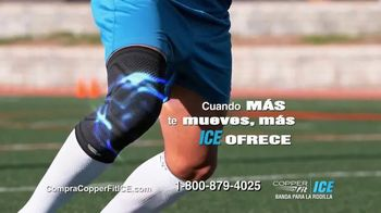 Copper Fit Ice TV Spot, 'Mejor soporte de compresión' [Spanish] - Thumbnail 4