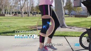 Copper Fit Ice TV Spot, 'Mejor soporte de compresión' [Spanish] - Thumbnail 7