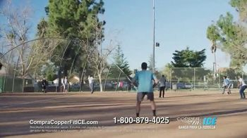 Copper Fit Ice TV Spot, 'Mejor soporte de compresión' [Spanish] - Thumbnail 8