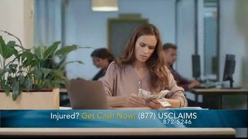 USClaims TV Spot, 'Injured in an Accident: Uncertain Times' - Thumbnail 4