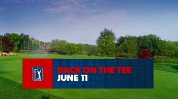 PGA TOUR TV Spot, 'Back on the Tee'