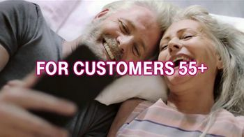 T-Mobile TV Spot, 'Connection for 55+ Customers: $55 for Two Lines' - Thumbnail 3
