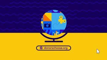 Donors Choose Organization TV Spot, 'A Great Education' - Thumbnail 6