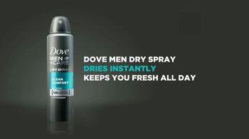 Dove Men+Care Dry Spray TV Spot, 'More Time' - Thumbnail 10
