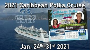 Princess Cruises TV Spot, \'2021 Caribbean Polka Cruise: Join Mollie B\'