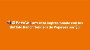 Popeyes Buffalo Ranch Tenders TV Spot, 'PetsGollum: impresionado' [Spanish] - Thumbnail 1