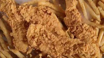 Popeyes Buffalo Ranch Tenders TV Spot, 'A Back Flip on the Tongue' - Thumbnail 3