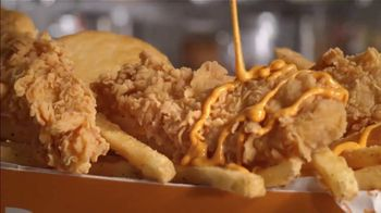 Popeyes Buffalo Ranch Tenders TV Spot, 'A Back Flip on the Tongue'