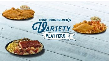 Long John Silver's Variety Platters TV Spot, 'Treasured Moment'
