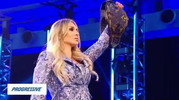 Progressive TV Spot, 'WWE Money Moves' Featuring Charlotte Flair - 1 commercial airings