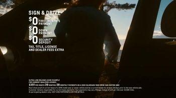 Chevrolet TV Spot, 'Chevy Cares: Open Road' [T1] - Thumbnail 6