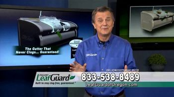 LeafGuard of Oregon $99 Install Sale TV Spot, 'Time Is Running Out'