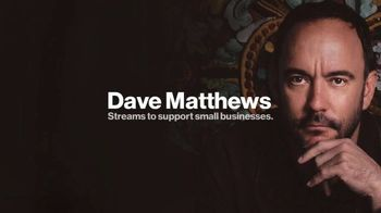 Verizon TV Spot, 'Pay It Forward LIVE: Dave Matthews' Song by Dave Matthews Band - 4 commercial airings