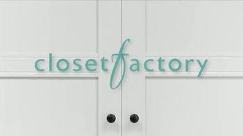 Closet Factory TV Spot, 'Working at Home' - Thumbnail 1