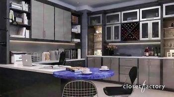 Closet Factory TV Spot, 'Working at Home' - Thumbnail 3