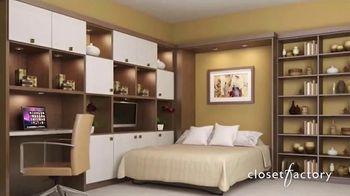 Closet Factory TV Spot, 'Working at Home' - Thumbnail 4