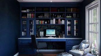 Closet Factory TV Spot, 'Working at Home' - Thumbnail 7