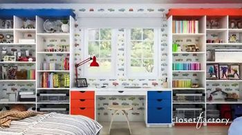 Closet Factory TV Spot, 'Working at Home' - Thumbnail 8