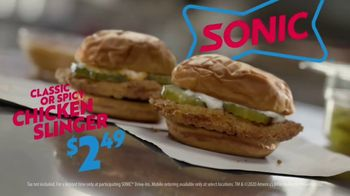 Sonic Drive-In Chicken Slinger TV Spot, 'First Date' - Thumbnail 7