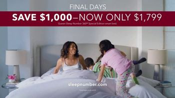 Sleep Number Memorial Day Sale TV Spot, 'Adjustable Settings: Ends Sunday' - Thumbnail 9