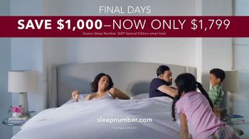 Sleep Number Memorial Day Sale TV Spot, 'Adjustable Settings: Ends Sunday' - Thumbnail 8