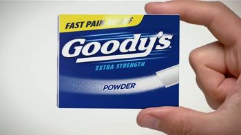 Goody's TV Spot, 'Fast Pain Relief' - Thumbnail 1