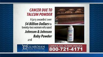 Guardian Legal Network TV Spot, 'Johnson & Johnson Baby Powder' - Thumbnail 5