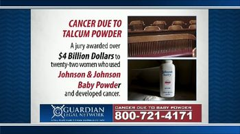 Guardian Legal Network TV Spot, 'Johnson & Johnson Baby Powder' - Thumbnail 6