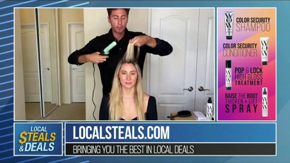 Local Steals & Deals TV Commercial, 'Color Wow Tutorial' Featuring Lisa Robertson