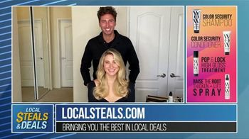 Local Steals & Deals TV Spot, 'Color Wow Tutorial' Featuring Lisa Robertson - Thumbnail 10