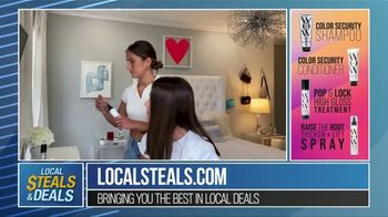 Local Steals & Deals TV Spot, 'Color Wow Tutorial' Featuring Lisa Robertson - Thumbnail 4