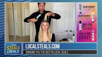 Local Steals & Deals TV Spot, 'Color Wow Tutorial' Featuring Lisa Robertson - Thumbnail 7