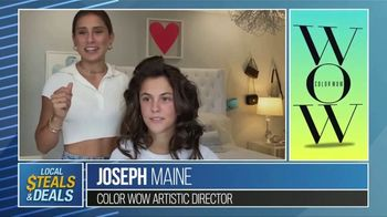 Local Steals & Deals TV Spot, 'Color Wow Tutorial' Featuring Lisa Robertson - Thumbnail 8