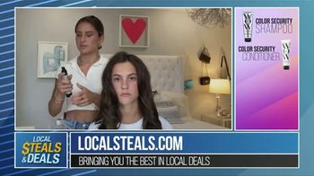 Local Steals & Deals TV Spot, 'Color Wow Tutorial' Featuring Lisa Robertson - Thumbnail 9