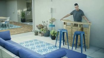 Wayfair TV Spot, 'DIY Network: Deck and Conversation Area'